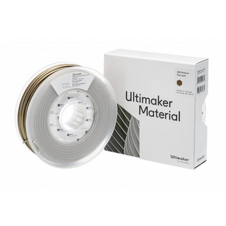 Ultimaker ABS 750gr Pearl Gold