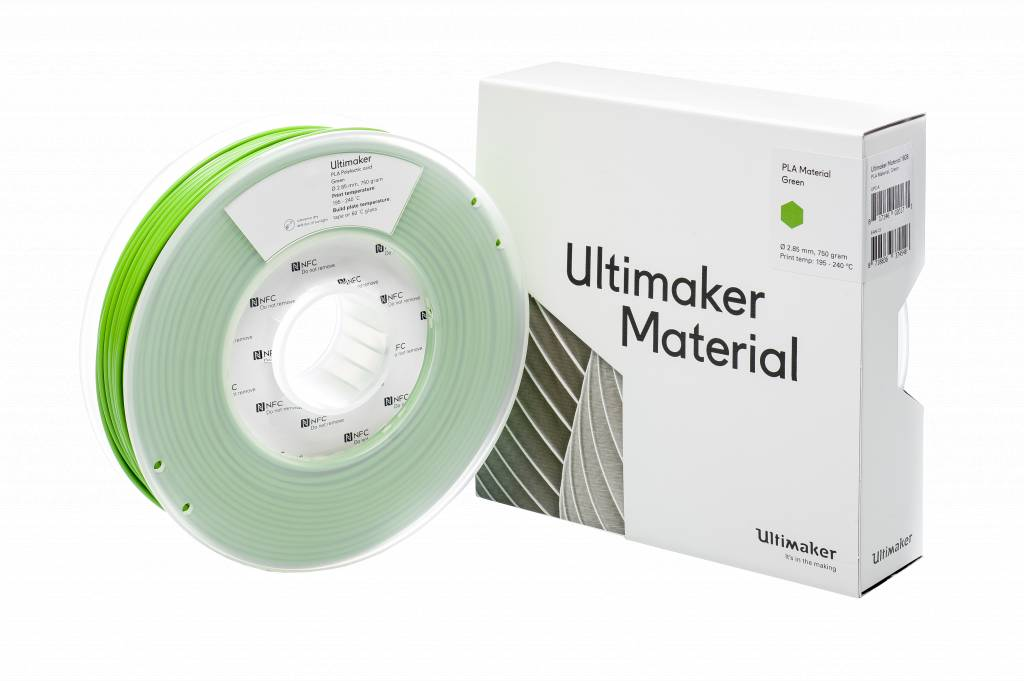 Ultimaker PLA 750gr Green