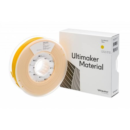 Ultimaker PLA 750gr Yellow