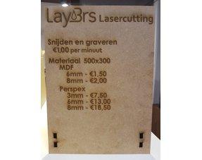 Lasersnijden service