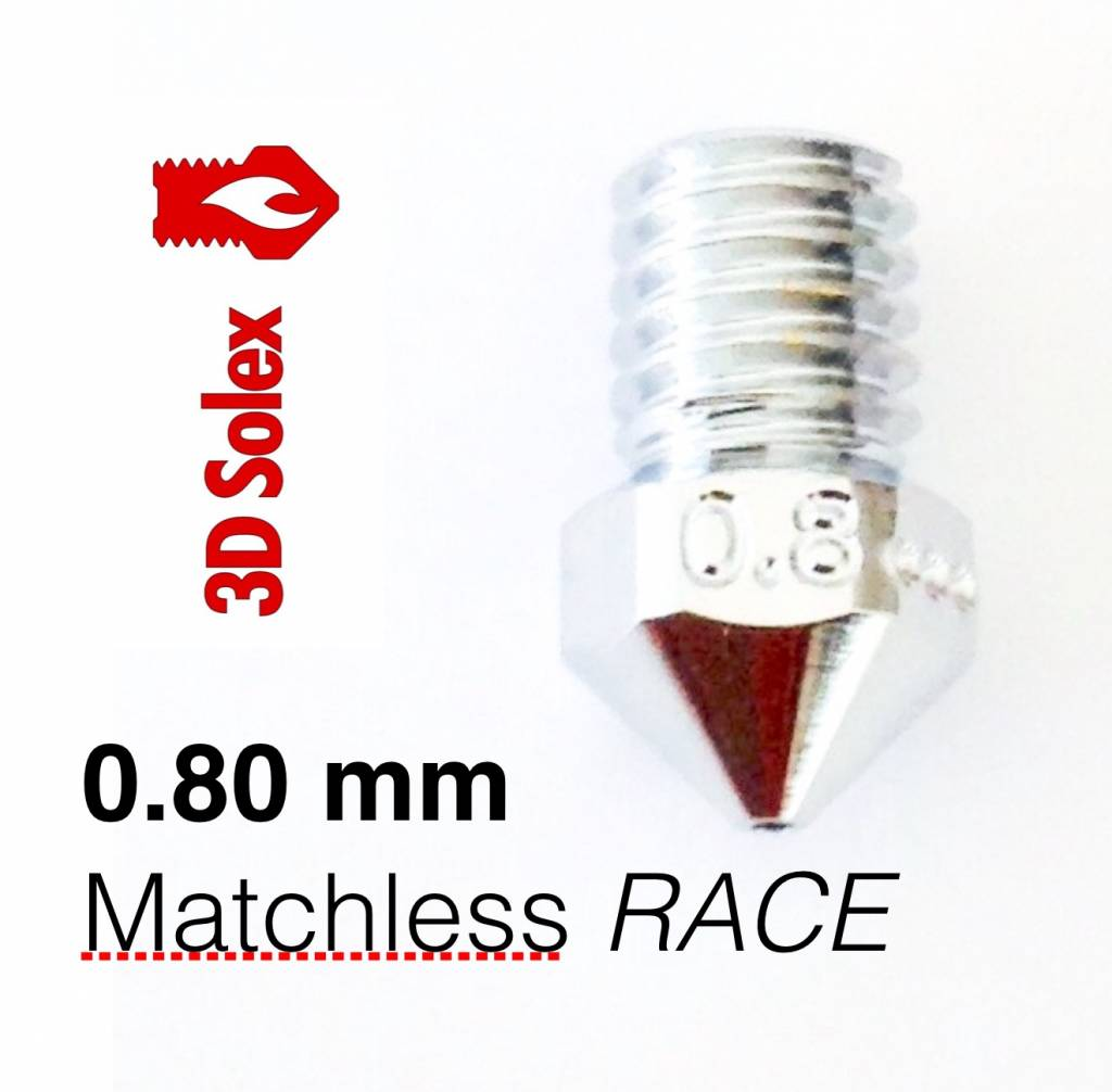 3DSolex Matchless RACE nozzle 0.8mm