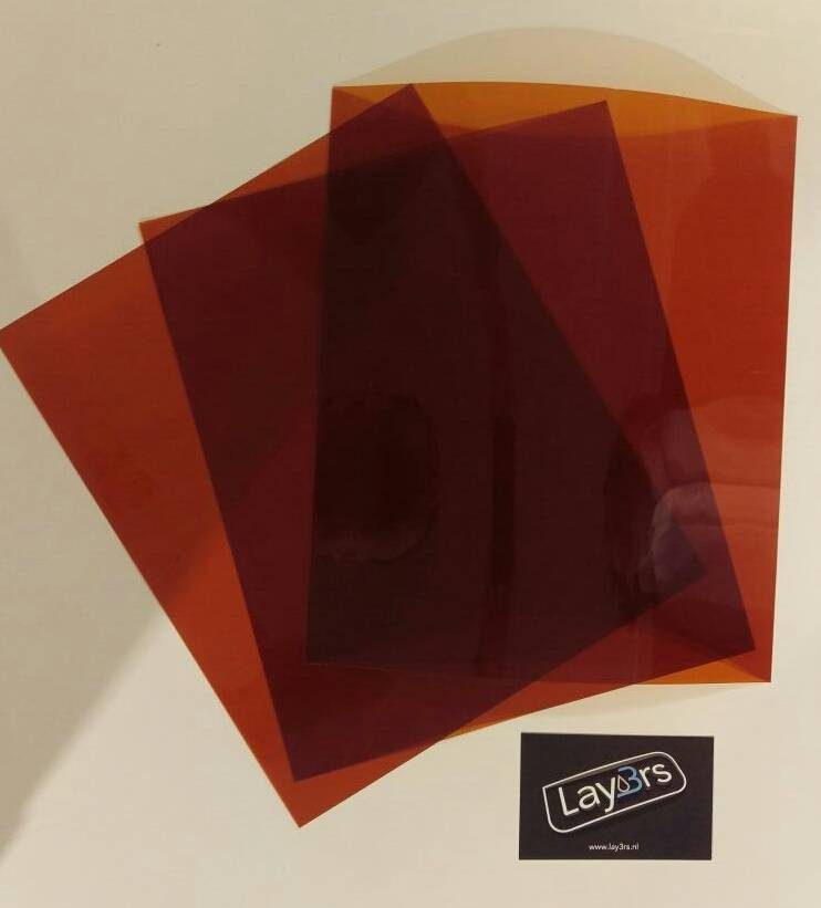 CraftUnique Kapton sheets voor Craftbot XL