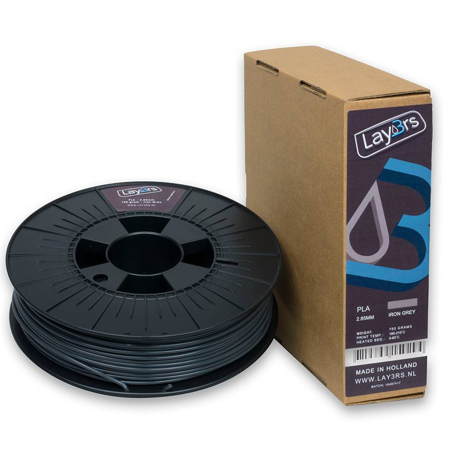Lay3rs PLA Iron Grey