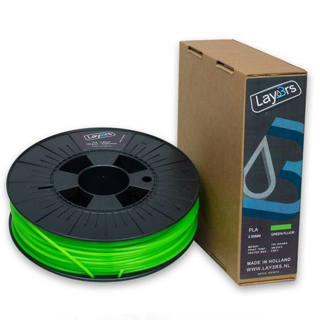 Lay3rs PLA 750gr Green Fluor