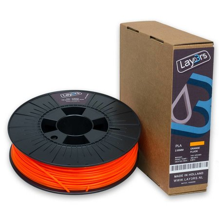 Lay3rs PLA Orange Fluor