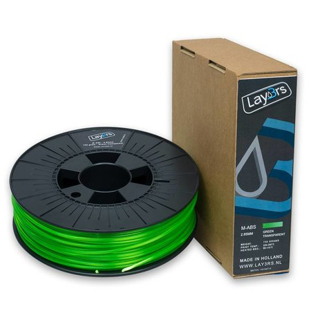 Lay3rs M-ABS Green Transparant