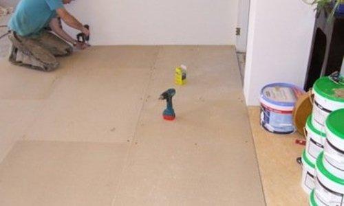 spaanplaat ondervloer voor kurk