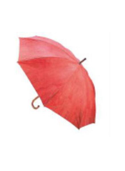 Huismerk Oranje / rode kurk Paraplu FHH-T002