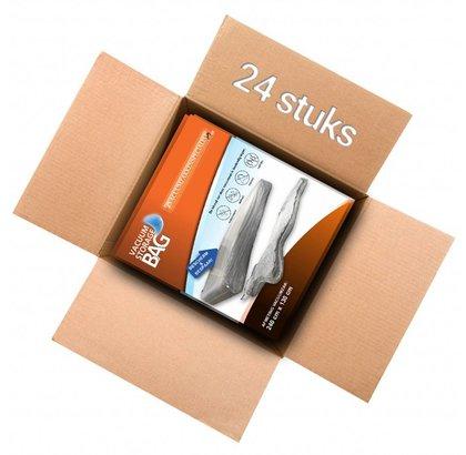 Pro VACUUMZAK VOOR MATRAS 240x130 VOOR VACUUM EN STOFVRIJ OPBERGEN VAN MATRAS-24 stuks