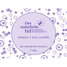 Omega-3 Leinöl-Set