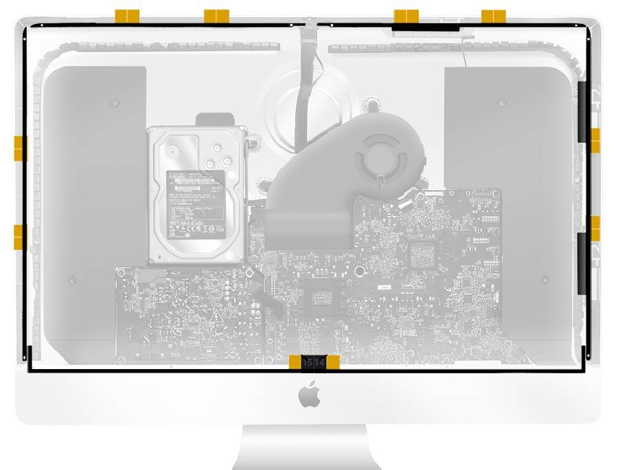 iMac 27 inch A1419 Adhesive Tape Strips