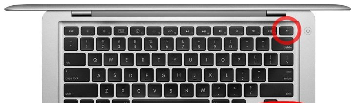 MacBook Pro 17 inch A1297 Toets