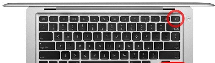 MacBook Air 13 inch A1369 Toets