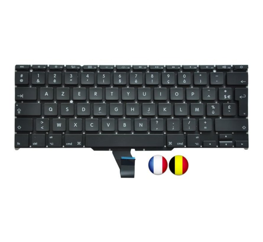 MacBook Air 11 inch A1370 en A1465 Toetsenbord - FR / AZERTY