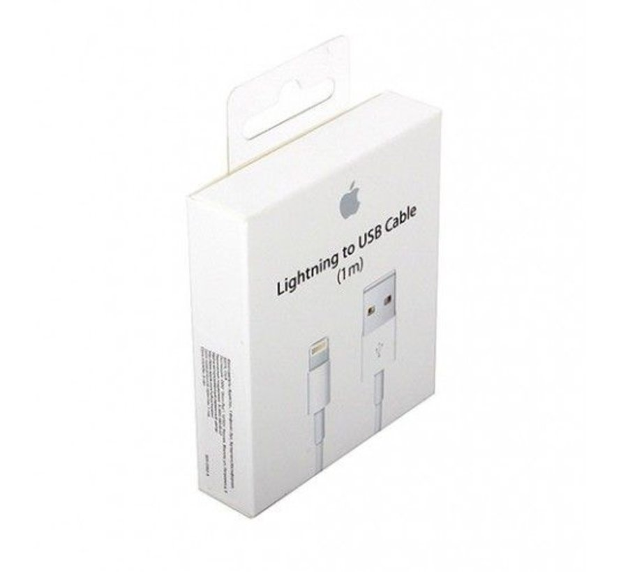 Apple Lightning naar USB Kabel, 1m