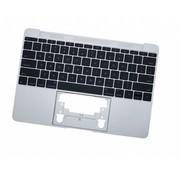 MacBook 12 inch A1534 topcase + toestenbord UK 2015 Zilver / Silver