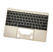 MacBook 12 inch A1534 topcase (2015) - UK/NL - gold - goud
