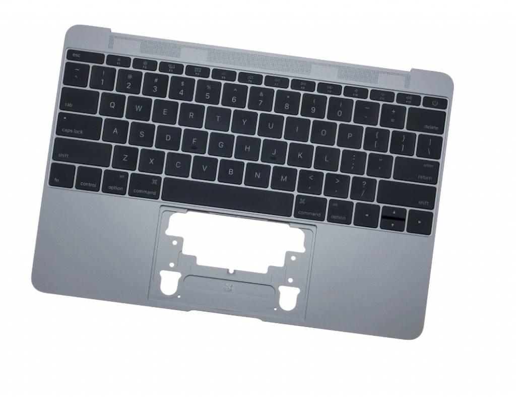 MacBook 12 inch topcase + toestenbord UK 2016 Space Grey