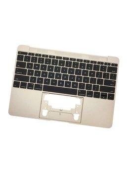 MacBook 12 inch A1534 topcase + toestenbord UK 2016 Goud / Gold
