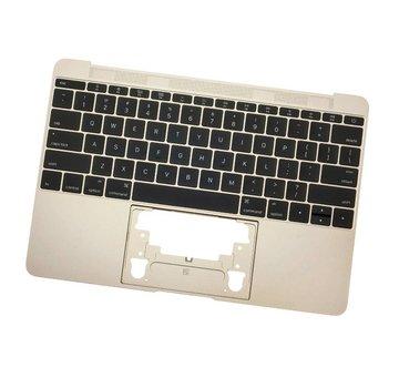 MacBook 12 inch A1534 topcase (2016 - 2017) - gold - goud