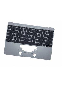 MacBook 12 inch A1534 topcase + toestenbord UK 2015 Space Grey