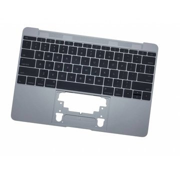 MacBook 12 inch A1534 topcase (2016 - 2017) - space grey