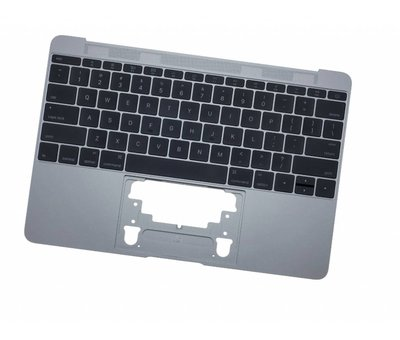 MacBook 12 inch A1534 topcase (2016 - 2017) - space grey