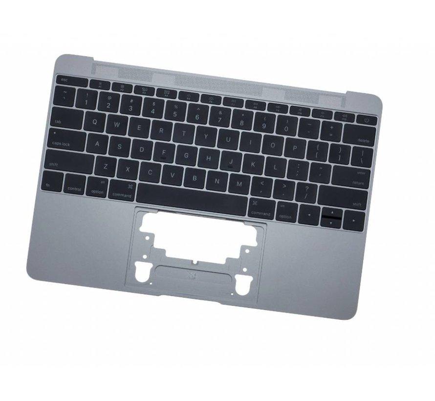 MacBook 12 inch A1534 topcase (2016) - UK/NL - space grey