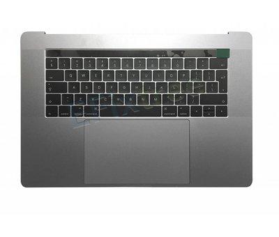 MacBook Pro 15 inch A1707 topcase - silver / zilver
