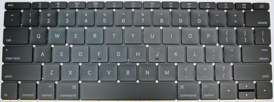 MacBook 13 inch A1708 toetsenbord UK / NL