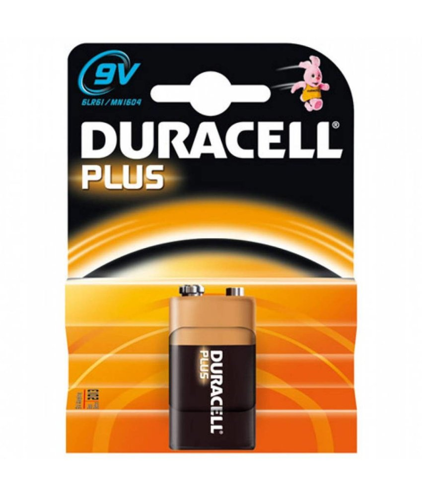 Duracell Batterij Plus Power 9 volt (blokje)