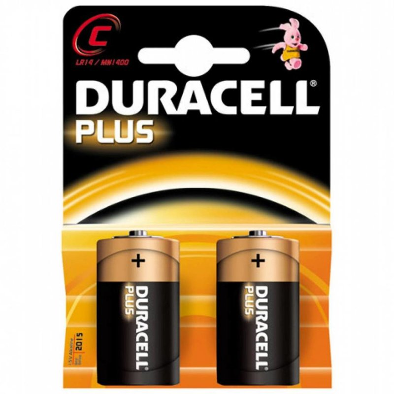Duracell Batterij Plus Power C 2 stuks