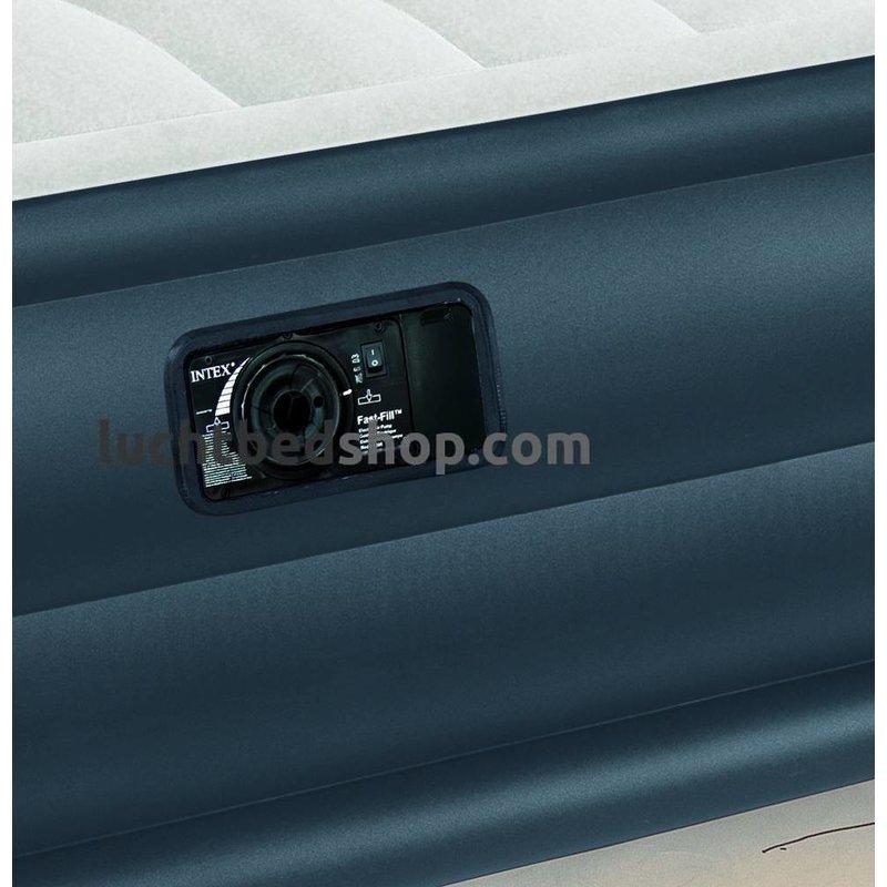 Intex Queen Prime Comfort Elevated 203x152x51 cm | Dura-Beam