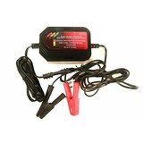 Trickle Charger 12 volt compact, Charger, Charger model drop switch, Battery