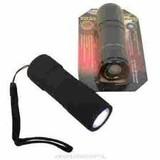 7 x LED Flashlight Rubber, flashlight, LED lamp, Lamp