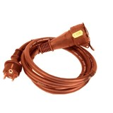 Extension cord 230 volts, 2.5 meters