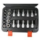 Torx bit socket set, 30 pieces