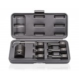 Impact socket set eight pieces,12 tooth