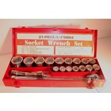 """Socket Box 21-piece inches, 3/4 """""""