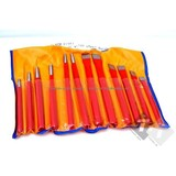 12-piece chisel and drevelset