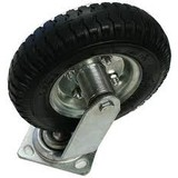 Caster wheel on air, Swivel castor with airtyre