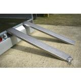 Oprijplaat 200cm aluminium, per stuk , Oprijplaat , Rijplaat , Oprij plaat