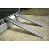 Oprijplaat 200cm aluminium, per set , Oprijplaat , Rijplaat , Oprij plaat