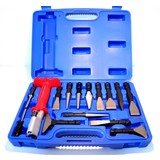 15 piece punch and chisel set