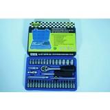 """Socket Box 1/4 """", 38 pcs, Socket set, Socket, Socket case, Socket Box, Ratchet set"""