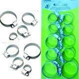 Hose clamps set 10 pieces, Hose Clamp Set, Set of hose clamps, hose clamps