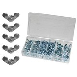 100-piece assortment wing nut, wing nut, wing nuts, wing nut, nut