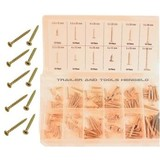 120-piece wood screws assortment