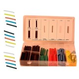 120-piece set of colored heat shrink sleeve