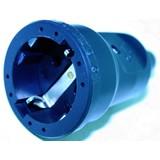 Black PVC industrial socket, Socket, socket Industrial 220 volts, PVC Socket
